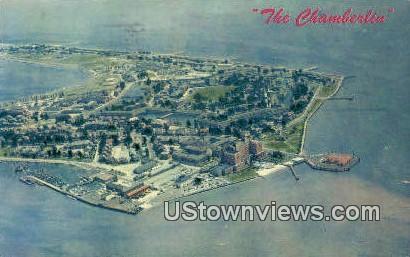 The Chamberlin - Fort Monroe, Virginia VA Postcard