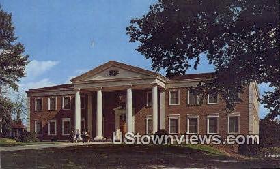 Roanoke College Library  - Salem, Virginia VA Postcard