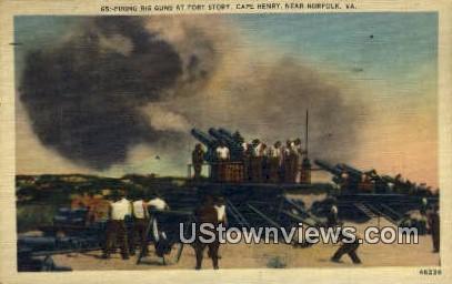 Cape Henry  - Norfolk, Virginia VA Postcard