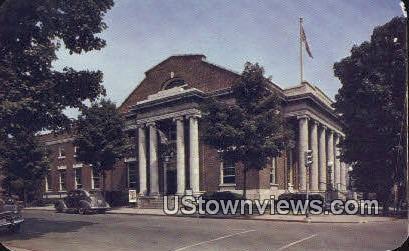 Us Post Office  - Winchester, Virginia VA Postcard