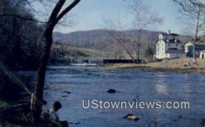Grahams Forge Mill  - Wytheville, Virginia VA Postcard