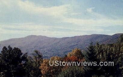 Blue Ridge Mountains , Virginia, VA, Postcard