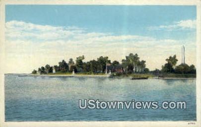 Colonial Church - Jamestown Island, Virginia VA Postcard