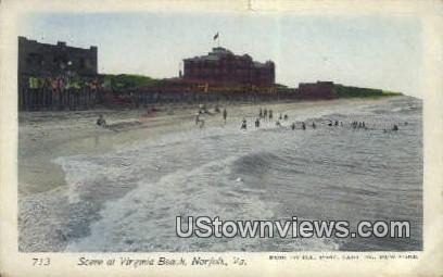 Virginia Beach  - Norfolk Postcard