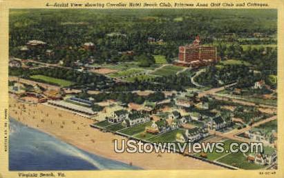 Cavalier Beach Club And Hotel  - Virginia Beach Postcards, Virginia VA Postcard