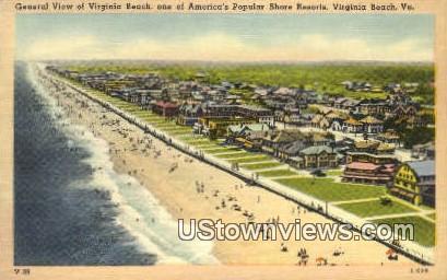 Americas Popular Shore Resorts  - Virginia Beach Postcards, Virginia VA Postcard