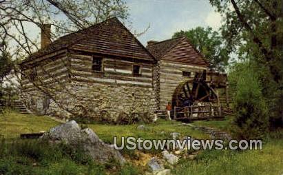 Water Mill  - Steeles Tavern, Virginia VA Postcard