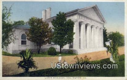 Lee Mansion  - Arlington, Virginia VA Postcard