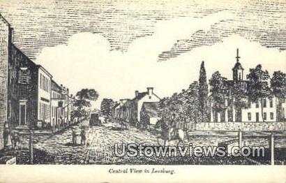 Central View  - Leesburg, Virginia VA Postcard