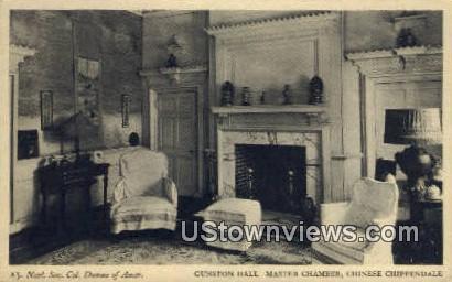 Gunston Hall Master Chamber  - Lorton, Virginia VA Postcard