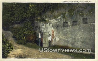 Cornwallis Cave  - Yorktown, Virginia VA Postcard