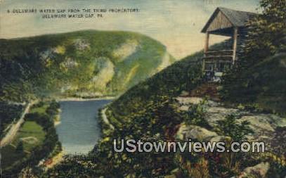 Delaware Water Gap, Virginia, VA, Postcard
