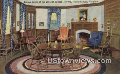The Market Street Tavern  - Williamsburg, Virginia VA Postcard