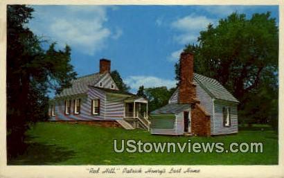Red Hill, Virginia, VA, Postcard
