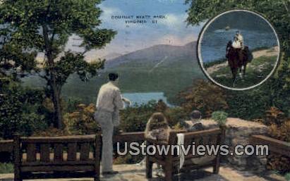 Douthat State Park, Virginia, VA, Postcard