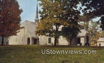 Augusta Stone Presbyterian Church  - Fort Defiance, Virginia VA Postcard