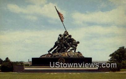 United States Marine Corps  - Arlington, Virginia VA Postcard