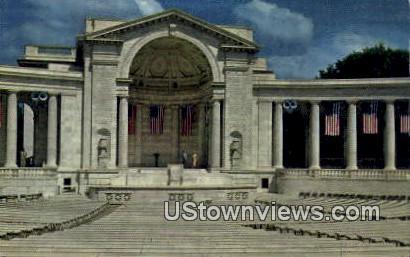 Memorial Amphitheatre  - Arlington, Virginia VA Postcard