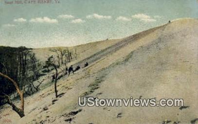 Sand Hill - Cape Henry, Virginia VA Postcard