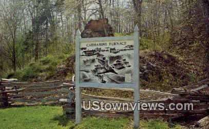 Catharine Furnace  - Fredericksburg, Virginia VA Postcard