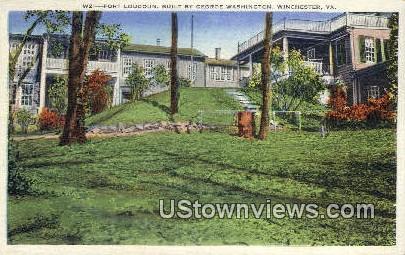 Fort Loudoun  - Winchester, Virginia VA Postcard