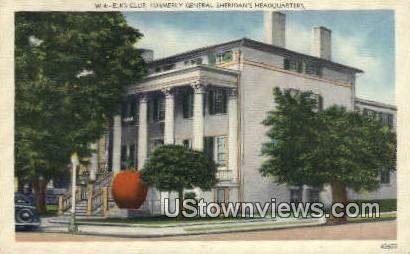 Elks club  - Roanoke, Virginia VA Postcard