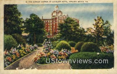 Sunken Garden - Virginia Beach Postcards, Virginia VA Postcard