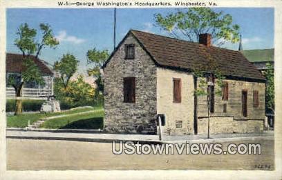 George Washingtons Headquarters  - Winchester, Virginia VA Postcard