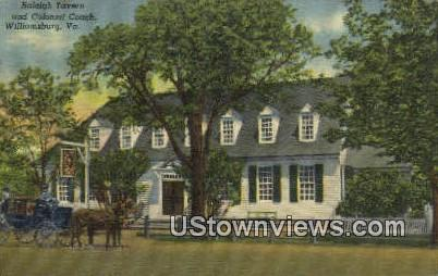 The Raleigh Tavern And Garden  - Williamsburg, Virginia VA Postcard