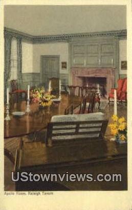 Apollo Room  - Williamsburg, Virginia VA Postcard