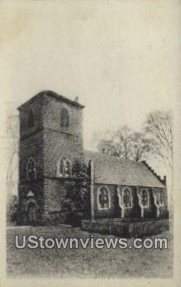Old St Lukes  - Smithfield, Virginia VA Postcard
