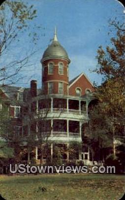 Southern Seminary for girls  - Buena Vista, Virginia VA Postcard