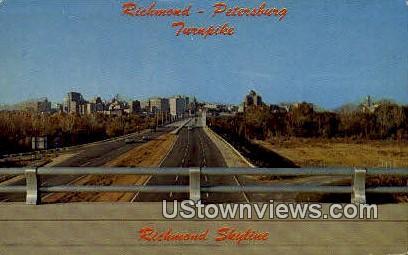 Turnpike  - Richmond, Virginia VA Postcard