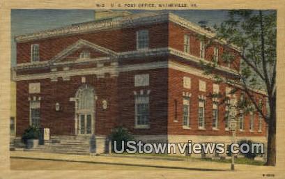 Us Post Office  - Wytheville, Virginia VA Postcard