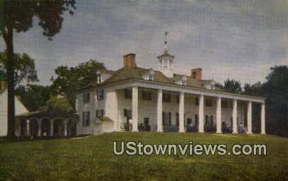 George Washington Memorial  - Mount Vernon, Virginia VA Postcard