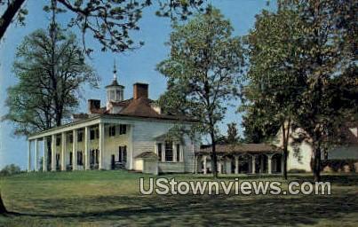 Home of Washington  - Mount Vernon, Virginia VA Postcard