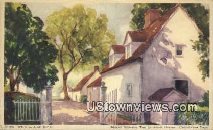 The Spinning House  - Mount Vernon, Virginia VA Postcard