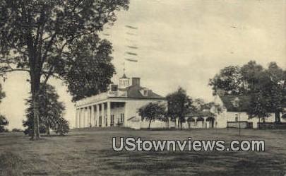 North View Of Mansion  - Mount Vernon, Virginia VA Postcard