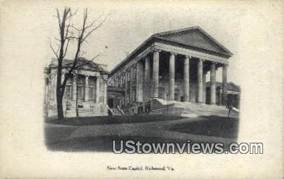 New State Capitol  - Richmond, Virginia VA Postcard