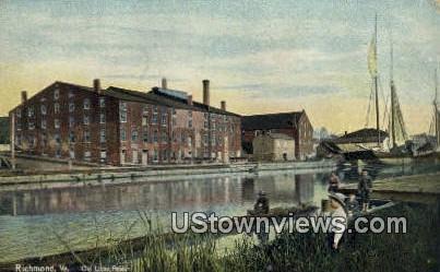 Old Libby Prison  - Richmond, Virginia VA Postcard