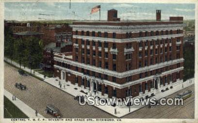 Central YMCA  - Richmond, Virginia VA Postcard