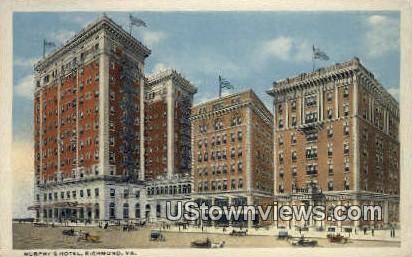Murphy's Hotel - Richmond, Virginia VA Postcard