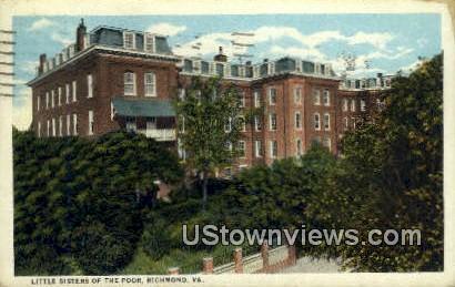 Little Sisters Of The Poor  - Richmond, Virginia VA Postcard