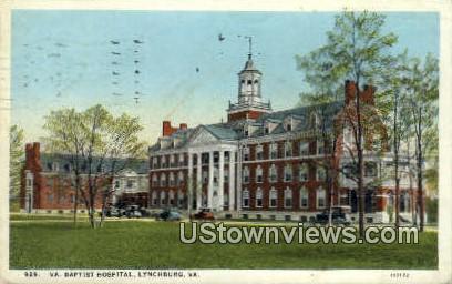 Virginia Baptist Hospital  - Lynchburg Postcard