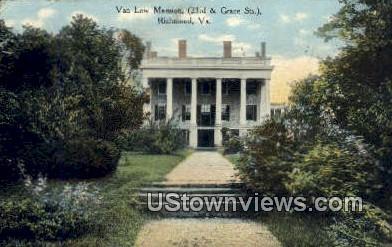 Van Lew Mansion  - Richmond, Virginia VA Postcard
