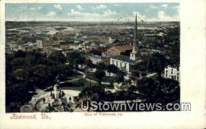 Richmond, Virginia, VA, Postcard