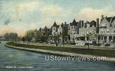 Ghent    - Norfolk, Virginia VA Postcard
