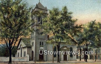 Old Trinity Church  - Portsmouth, Virginia VA Postcard