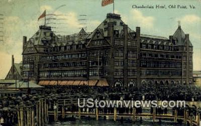 Chamberlin Hotel  - Old Point, Virginia VA Postcard
