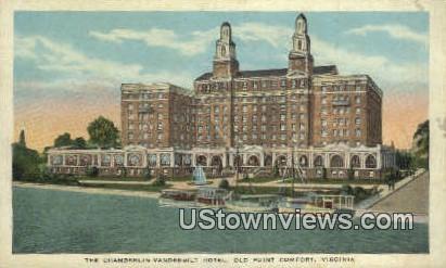 The Chamberlin Vanderbilt Hotel  - Old Point Comfort, Virginia VA Postcard